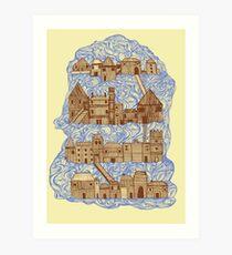 floating village Art Print