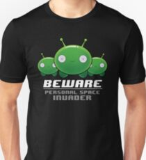 Mooncake Personal Space Invader Unisex T-Shirt