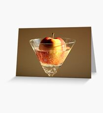 Apple-Tini Greeting Card