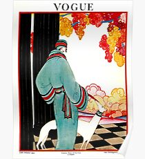 VOGUE : Vintage 1922 Advertising Print Poster