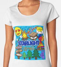Sternenlicht Premium Rundhals-Shirt