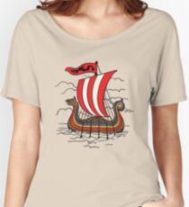 Viking ship Women's Relaxed Fit T-Shirt