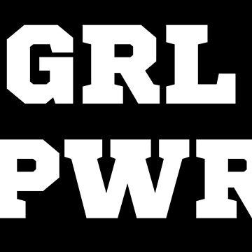 GRL PWR BOLT - GIRL POWER FEMINIST SHIRT - FEMINISM - Girl Power Shirt - Feminist Shirt - Teen Girl Gift by milibadic