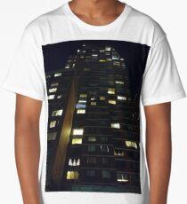 Architecture, New York, Manhattan, Brooklyn, New York City, architecture, street, building, tree, car,   Long T-Shirt