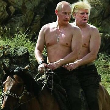 Trump And Putin Riding Horse Meme by prodesigner2