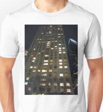 Metropolitan area, New York, Manhattan, Brooklyn, New York City, architecture, street, building, tree, car,   Unisex T-Shirt
