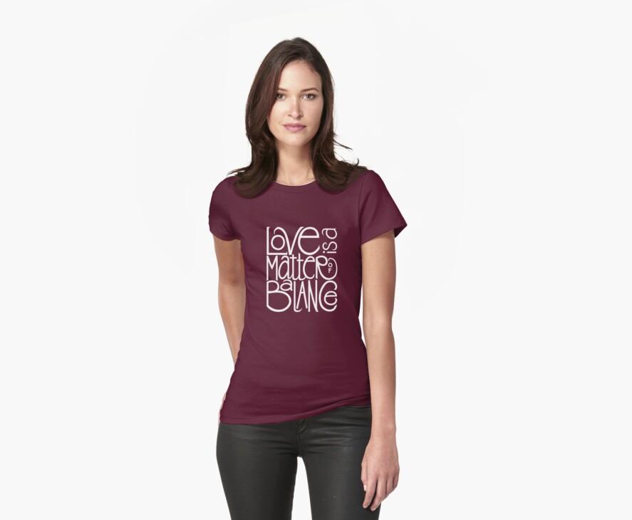 Love Balance T-shirt by Mariana Musa