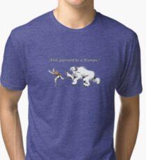 William Shakespeare's Star Wars: Exit, pursued by Wampa Tri-blend T-Shirt