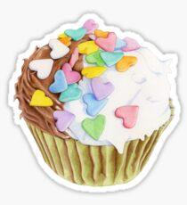 Cupcake Hearts T-shirt Sticker