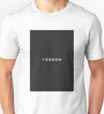 London Minimalist Black and White - Trendy/Hipster Typography T-Shirt
