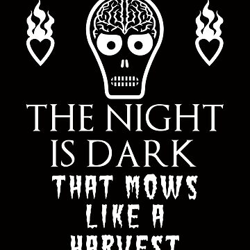 Funny Mashup  - The Night is Dark that Mows Like a Harvest  by electrovista