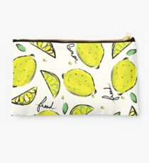 Lemons, Fresh Lemons Studio Pouch