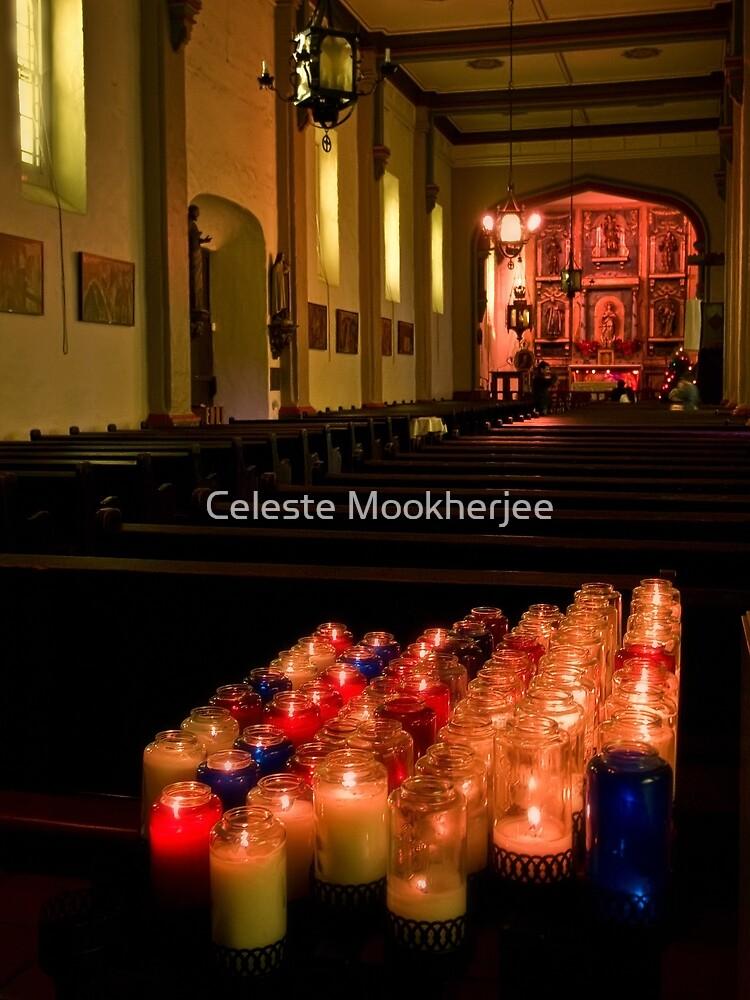 Mission San Gabriel by Celeste Mookherjee