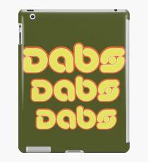Dabs, dabs, dabs! iPad Case/Skin
