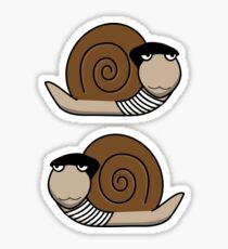 French Snail ~ Escargot Sticker