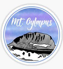 Berg Olymp Sticker