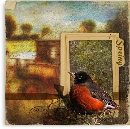 Window to Spring by Karen Scrimes