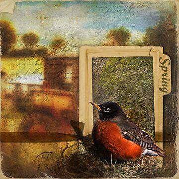 Window to Spring by minkas