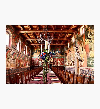Medieval  Dining Photographic Print