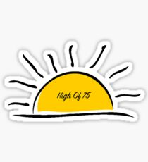 Relient K: Sunny With a High Of 75 Sticker