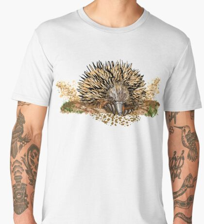 echidna digging Men's Premium T-Shirt