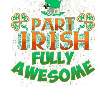 St Patricks Day Shamrocks Funny Irish St Pattys Day by arsdgibbons