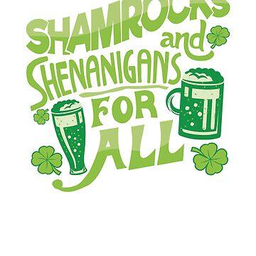 Saint Patricks Day Beer Drinking St Pattys Irish Shenanigans by arsdgibbons