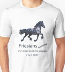 Friesians supporting bushfire relief T-Shirt