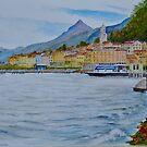 Bellagio on lake Como, Lombardy, Italy by Dai Wynn