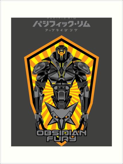 Expression De La Jante Du Pacifique Obsidian Fury Jaeger