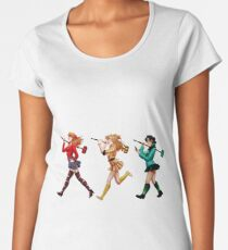 Heather C.M.D. white Women's Premium T-Shirt