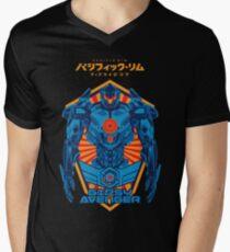 PACIFIC RIM UPRISING : GIPSY AVENGER JAEGER Men's V-Neck T-Shirt