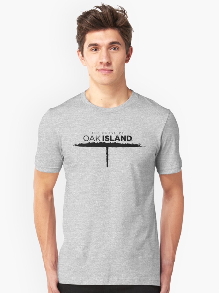 Alternate view of The Curse Of Oak Island Slim Fit T-Shirt