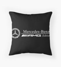 Mercedes Throw Pillow