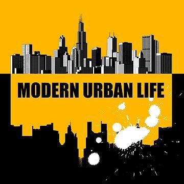 Modern urban life by maystra
