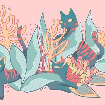 Cat Plant by kookylane