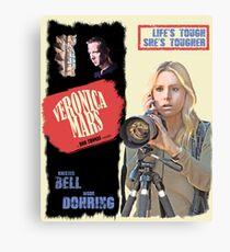 Veronica Mars Vintage Film Poster Canvas Print