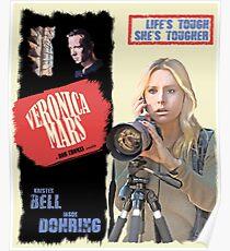 Veronica Mars Vintage Film Poster Poster