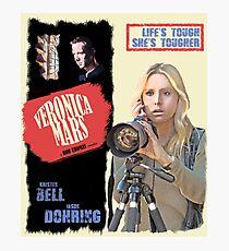 Veronica Mars Vintage Film Poster Photographic Print