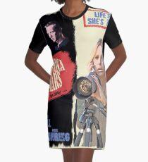 Veronica Mars Vintage Film Poster Graphic T-Shirt Dress
