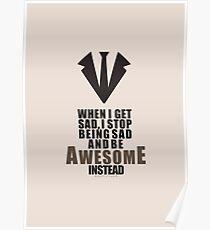 Barney Stinson Quote  Poster