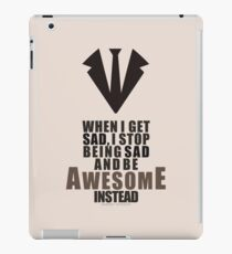 Barney Stinson Quote  iPad Case/Skin