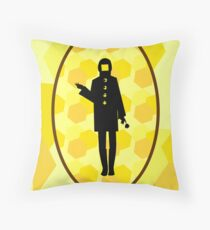 World without bees? Throw Pillow