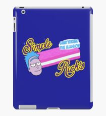 Come home, to Simple Rick's*  iPad Case/Skin