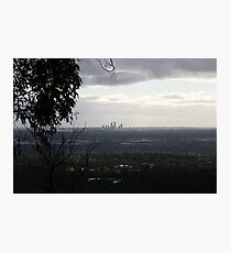 View from perth hills. Photographic Print