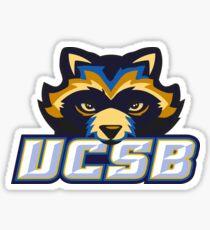 UCSB Raccoon Mascot! Sticker
