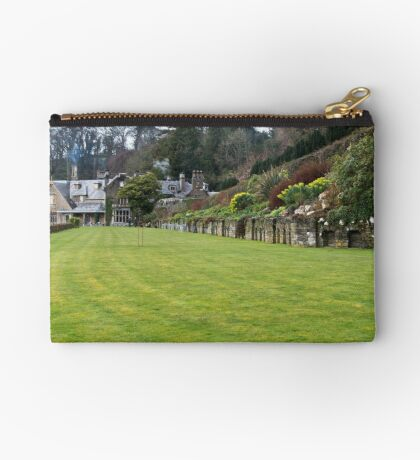 Croquet Lawn Zipper Pouch