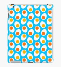 Boiled eggs iPad Case/Skin