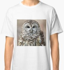 Vilma the Barred Owl Watching Me Classic T-Shirt