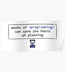Weeks of programming Poster